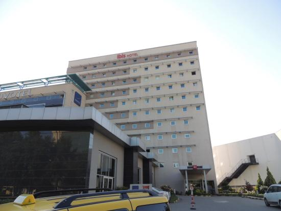 Hotel Ibis Gaziantep : The Ibis hotel , next to the Novotel .