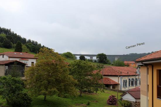 Hotel Valle Las Luinas: Ubicación perfecta