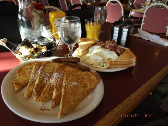 Baraga, MI: French Toast. Hash & Eggs.