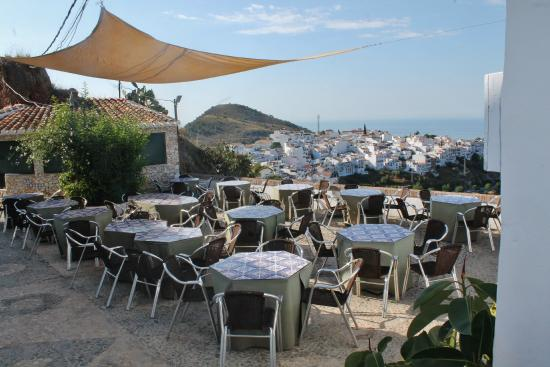 Foto de restaurante el mirador frigiliana el mirador for Terrace 45 menu