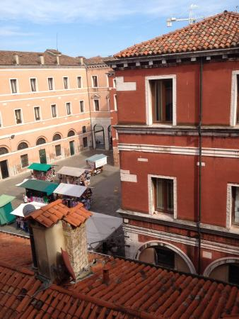 Pensione Guerrato: View from 3rd floor room