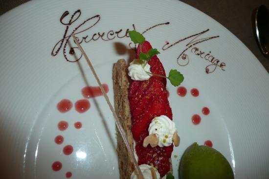 Hôtel Restaurant La Rochette: Aussi beau que bon