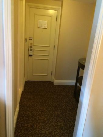 Nice space - entryway. Lots of room.