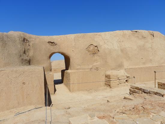 Tchogha Zanbil Susa Iran Interno Mura Ziggurat Foto