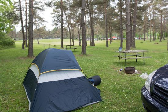 Newfield, estado de Nueva York: Tent Site 107