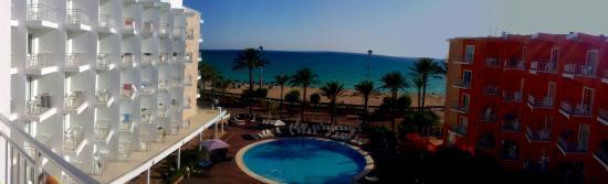 HM Tropical: Vista dalla camera 405