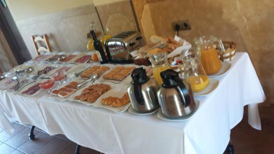 Hotel Finca Fabiola: El desayuno
