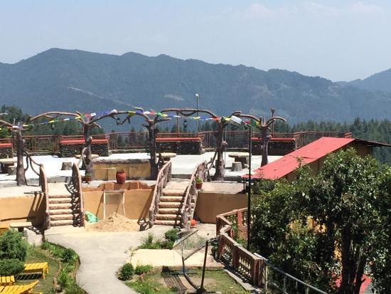 Everest Panorama Resort Daman Nepal Everest Panorama Resort View