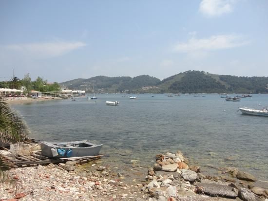 Limanaki: The view from our table