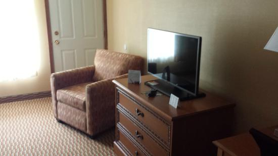 Quality inn Westfield: Television