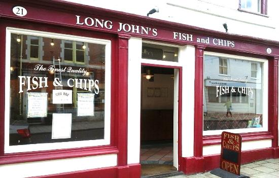 ‪Long Johns Fish & Chips‬