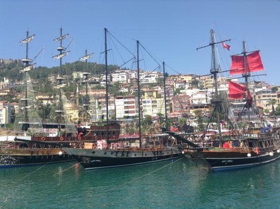 Alanya, Turcja: The boats