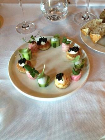 Restaurant Hotel Merlet: Het begon al goed...