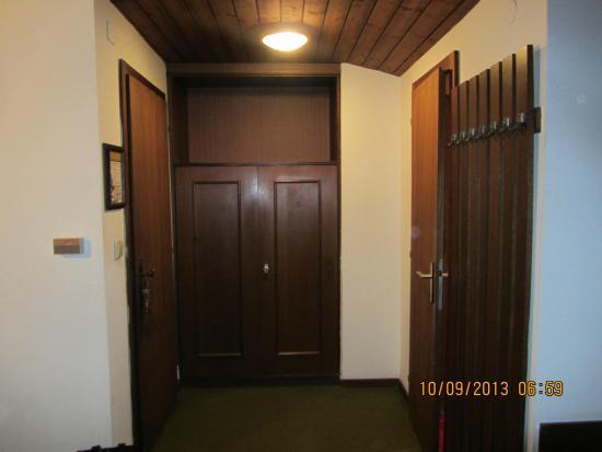 Hotel St. Hubertushof: zicht van de kamer