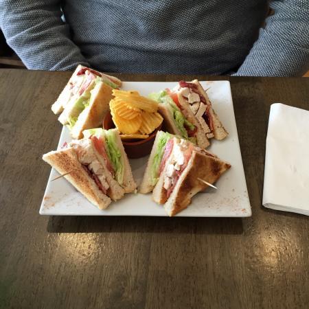Mrs B's Coffee House: Club Sandwich