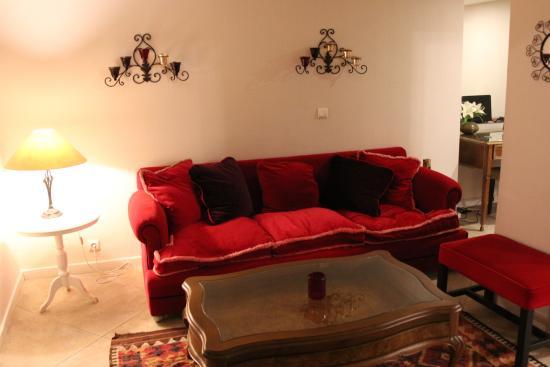 Celal Sultan Hotel: Coté détente