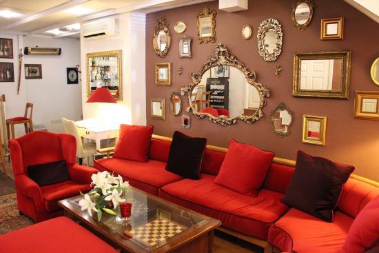 Celal Sultan Hotel: La salle du celal sultant magnifique !