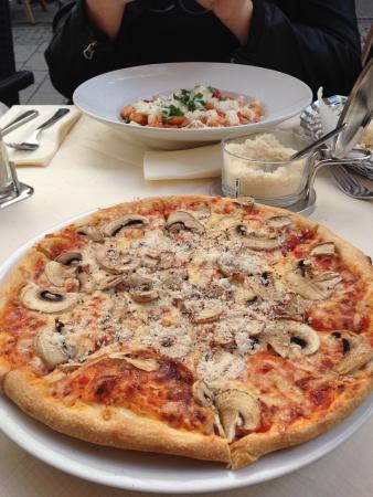 Pizzeria Il Delfino: Very tasty pizza