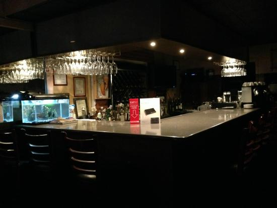 Chef Tony's: Our small & intimate bar...