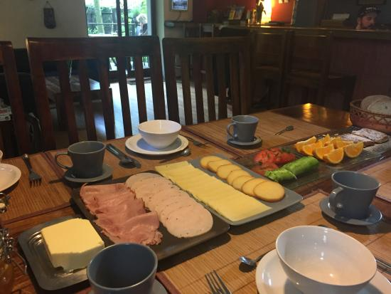 Mundo Hostel: Just a portion of the excellent free breakfast