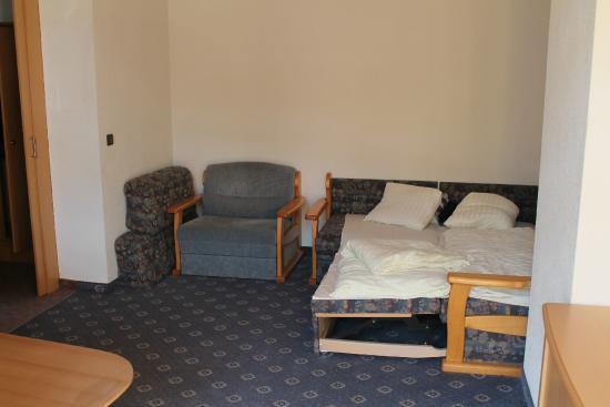 Hotel Kohlerhof: Wohn-/Schlafraum