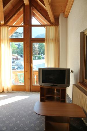 Hotel Kohlerhof: Blick Schlafraum