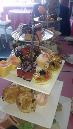 Birthday Boy Afternoon Tea - Picture of Bon Tea Room, Edinburgh ...