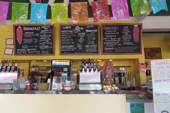 Burrito Company, Santa Fe, NM - menu