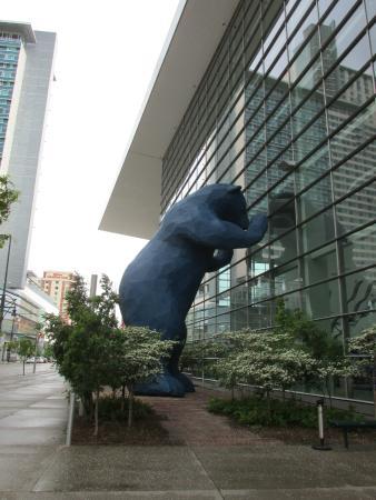Big Blue Bear Picture Of Colorado Convention Center