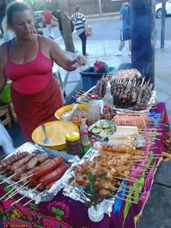 Vidigalhouse Hostel: Food to buy in Vigidal favela