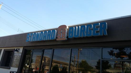 Photo of American Restaurant Standard Burger at 4115 Hylan Blvd, Staten Island, NY 10308, United States