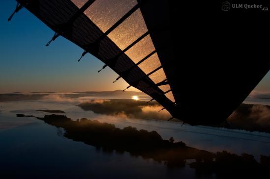 Saint-Cuthbert, Canada: Levé du soleil