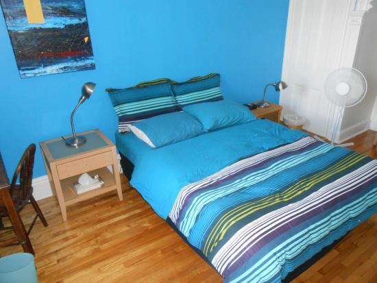 Turquoise Bed and Breakfast : Vista de la habitación