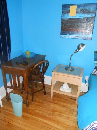 Turquoise Bed and Breakfast : Pequeño escritorio