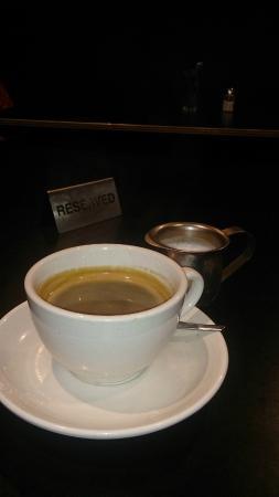 Rain Check Lounge : Merlo coffee