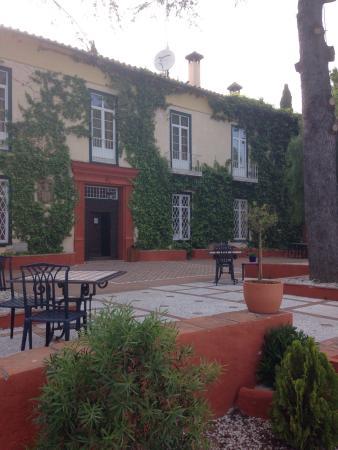 Hotel Cortijo la Reina: die Terrasse