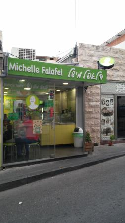 Falafel Hwadi Micheal: From across the street.