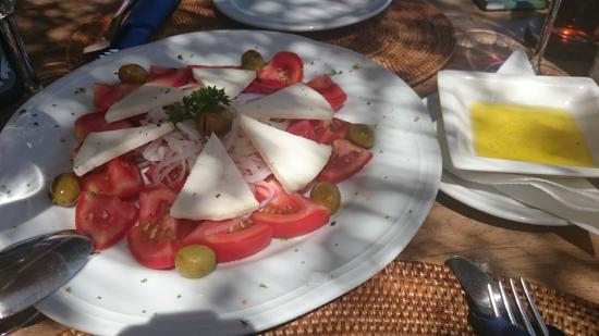 Restaurante Terraza del Gato : Ensalada con queso majorero