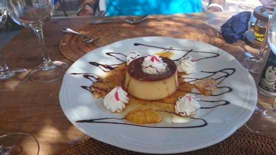 Restaurante Terraza del Gato : Flan casero