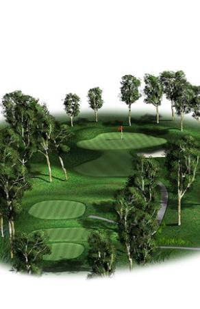 Federal Golf Club: Hole 12, Par 3: This is a testing hole for any level of golfer.  It requires a solid tee shot
