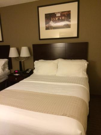 Holiday Inn Kalamazoo-West: Reasonable Bed