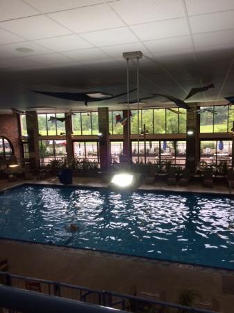 Holiday Inn Kalamazoo-West: Stinky Pool!