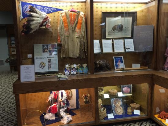 New Town, ND: Photos of the a few of the museum's exhibits, the treaty monument outside, and Four Bears Bridge