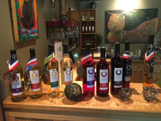 Blue Moon Winery: Award winning Blueberry and Blackberry Wines