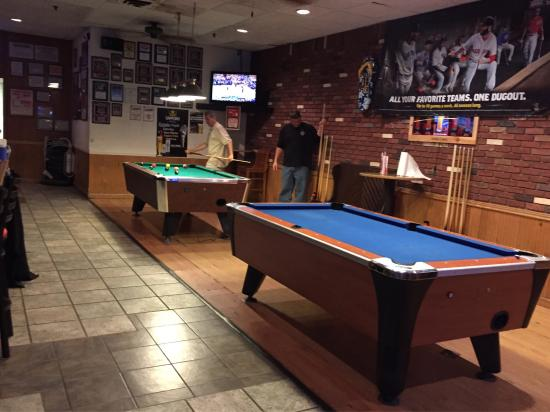 Rudis Bar And Grill: Two Pool Tables