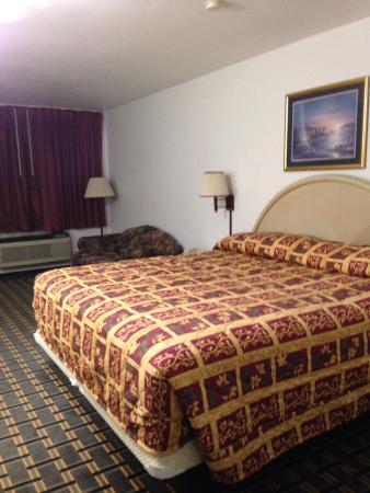 Delhi, لويزيانا: Super comfy King bed