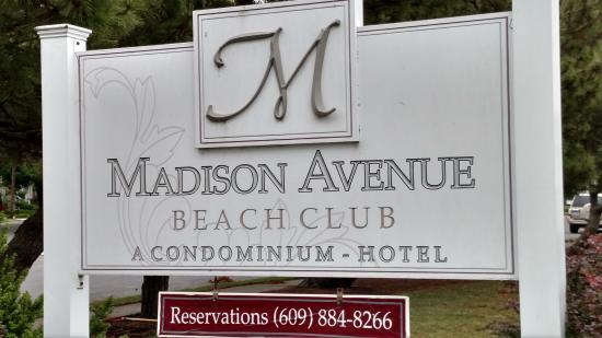 Madison Avenue Beach Club Motel: Madison Avenue Motel