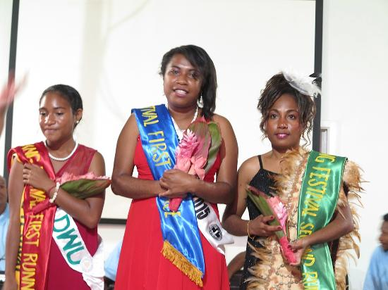 Madang Resort Hotel: Winners of the Miss Madang Festival 2015