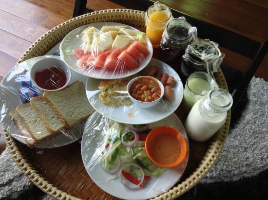 The Gemalai Village: Breakfast set B (English Set)