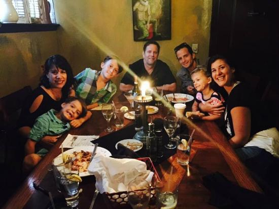 Family Birthday Dinner Picture Of Pia S Trattoria Gulfport Tripadvisor